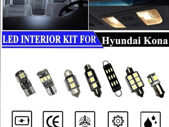Innenraumlampen gegen LED getauscht